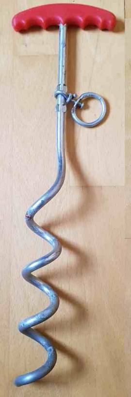 Erdanker, Anlegepflock 40 cm - Bild vergrößern