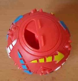 Snackball mit Schiebe-Öffnung - Bild vergrößern