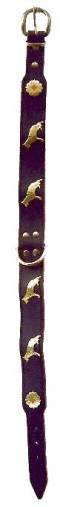 Motiv-Halsband Schäferhund schwarz